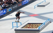 Ishod Wair 50 up the rail