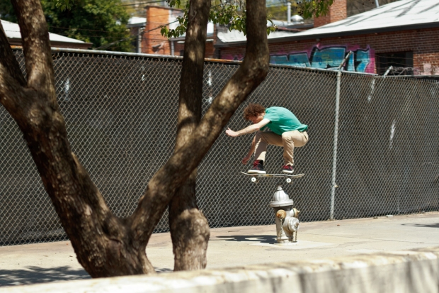 BS Nollie 180 (Photo By David Morica)